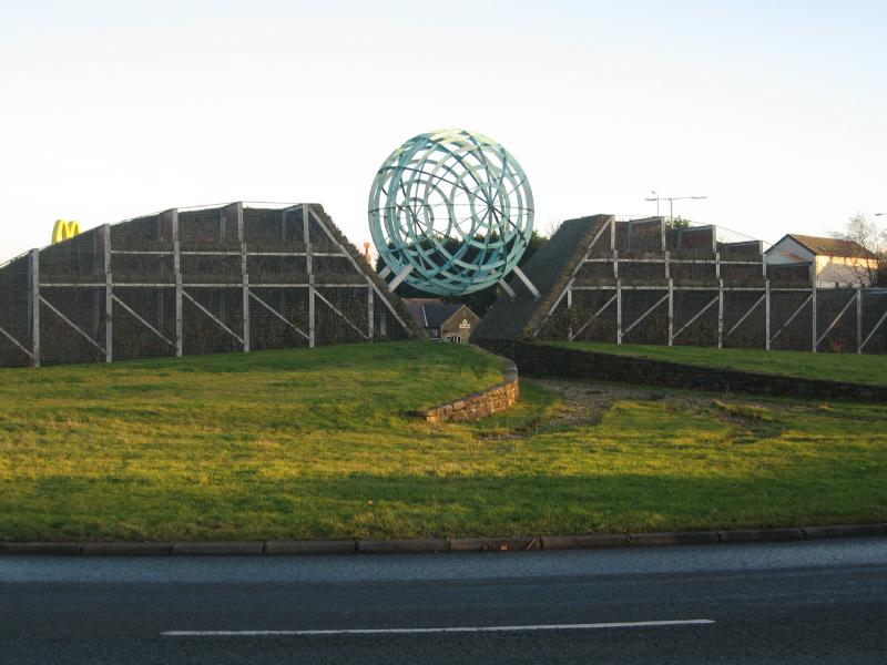Whitebirk roundabout, Blackburn