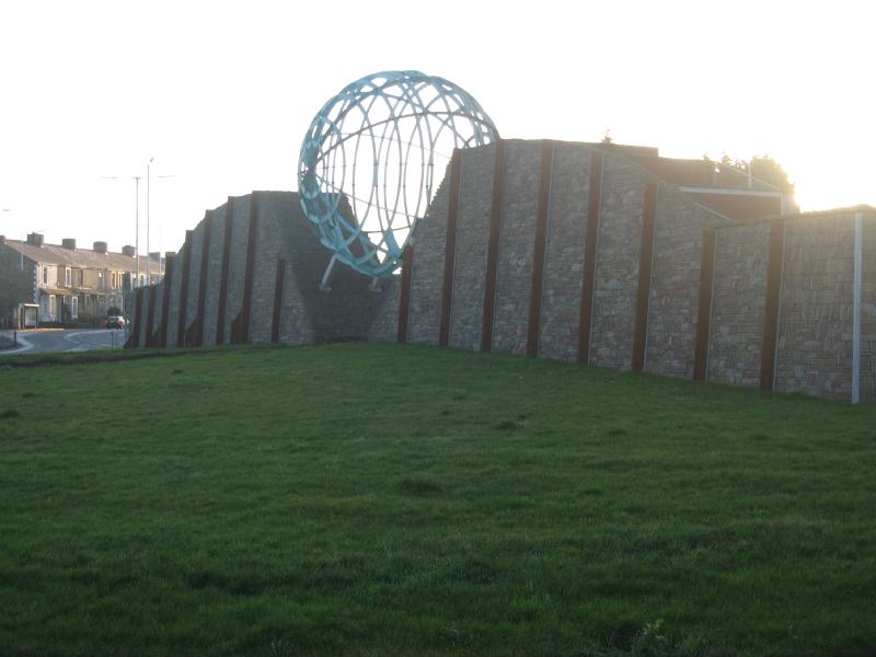 Whitebirk roundabout, Blackburn