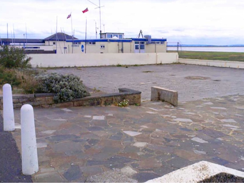 Mussel Tank, Lytham - A before photograph of the site
